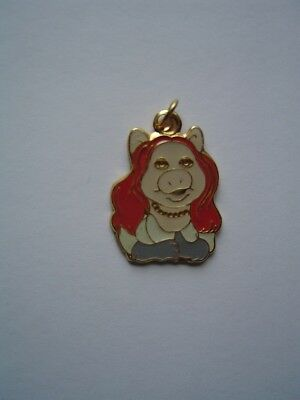 Miss Piggy Muppets Charm, Licensed New Old Stock!
