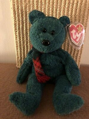 WALLACE the SCOTTISH BEAR -The Beanie Babies Collection- TY BEANIE ORIGINAL  BABY adc78edefbe