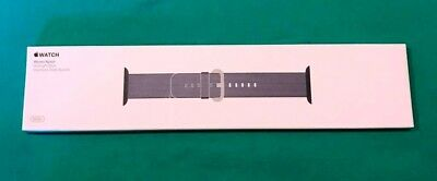 Genuine Apple Watch Band 38mm - Midnight Blue Woven Nylon - Never Opened - New