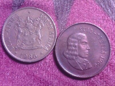 South  Africa   1 Cent   1966   1986