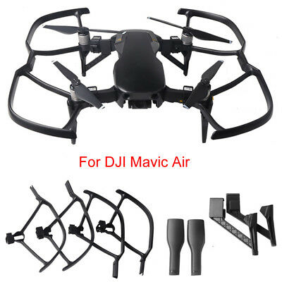 Release Propeller Guard+Extended Landing Gear Legs Quick For DJI Mavic Air Drone