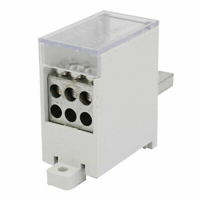 2 x Mini Junction Box With 3 Terminals 30 Amp,TPS,O//circ Household Industrial