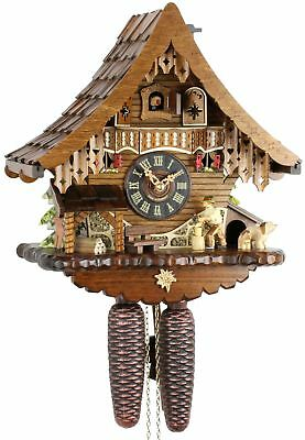 Holzhacker 34cm- Cuckoo Clock Original Black Forest Cuckoo Clock Real Wood