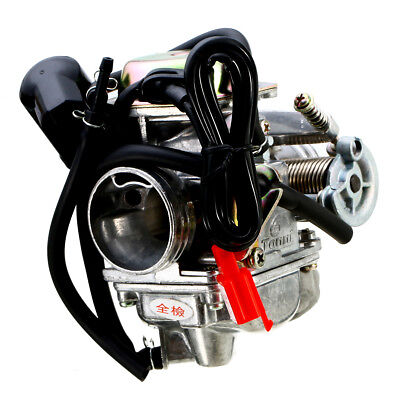 1 Satz 24MM Vergaser Carb 4 Hub GY6 110/125 / 150cc Scooter Moped ATV Go Kart