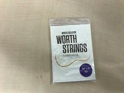 Worth Strings BF-LG ukulele string brown fat Low-G 63 inch fluorocarbon