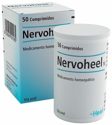 NERVOHEEL N HEEL 50tabs Homeopathic Medicine for Stress Insomnia Nervous tension