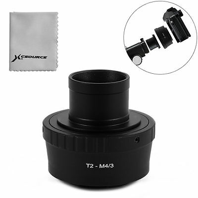 Lens Adapter T T2 for Panasonic Micro 4/3 M4/3 + 1.25 inch Telescope Mount DC691