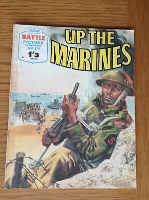 BATTLE PICTURE LIBRARY No.479 - UP THE MARINES