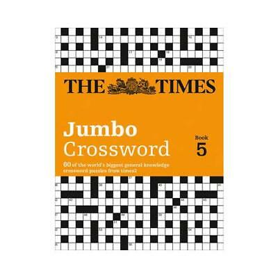 The Times 2 Jumbo Crossword Book 5 by The Times Mind Games (author), Times2 (...