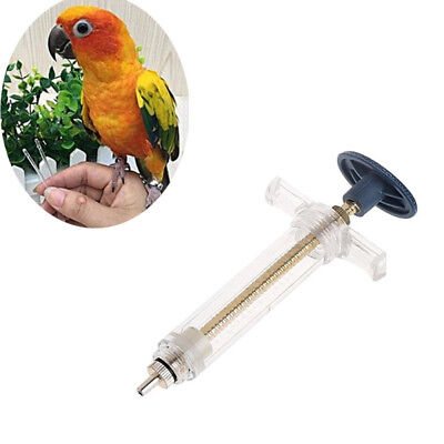1 x Bird Parrots Feeding Syringe Epidemic Prevention Treatment Injector Canary