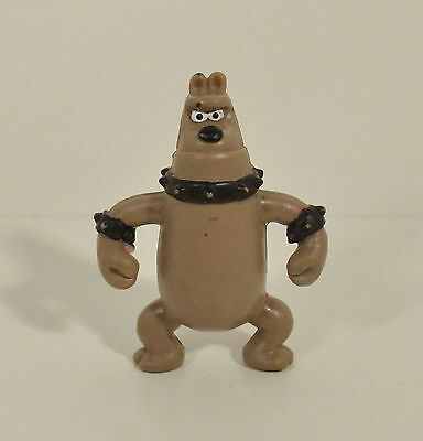 "2.5"" Preston Dog Wallace & Gromit A Close Shave 1989 Irwin PVC Action Figure"