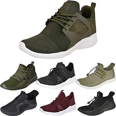 Crosshatch Mens Lightweight Trainer Running Gym Shoes Sneakers UK Size