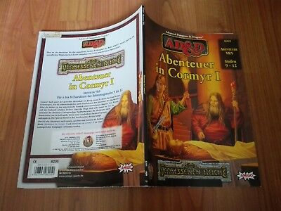 8205 Abenteuer In Cormyr 1 Advanced Dungeons & Dragons Ad&d Sehr Gut