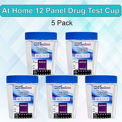 At Home Drug Test Kits (12 Panel) -  Urine Drug Test Cups - Free Shipping!
