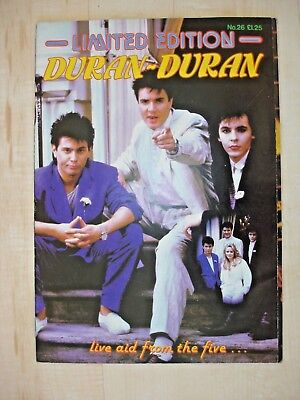 Ltd Edition Duran Duran & Fold Out Picture__Live Aid