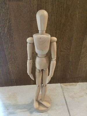 Artists Wooden Male Manikin/ Mannequin