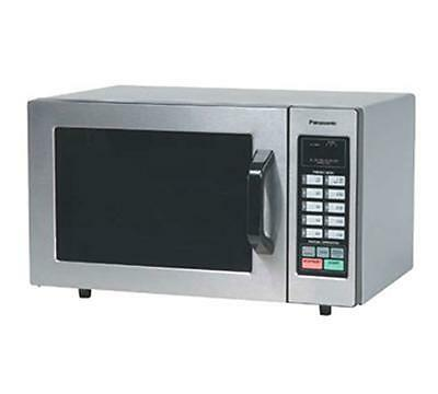 Panasonic NE-1054F Stainless 1000W 0.8 Cu. Ft. Commercial Microwave Oven...