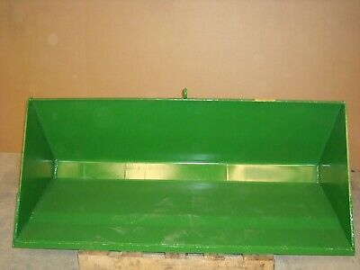 7' Standard Material Loader Bucket with Color & Bracket Choice