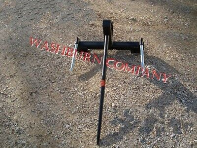 """eHay Bale Mover Front Mount Bucket Bale 1 Spear, 39"""" Long"""
