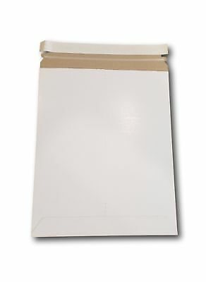 9 3/4 X 12 1/4 Document / Photo Self-Seal Rigid Stay Flat Mailer - (15 Pieces)