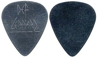 Def Leppard Vivian Campbell authentic 1990's steel engraved custom Guitar Pick