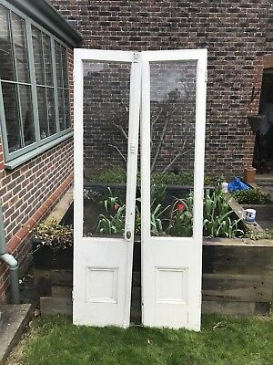 Pair Of Victorian Glazed Doors internal