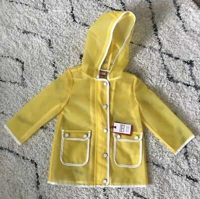 Hunter for Target Toddlers' Rain Coat - Yellow size 2T LIMITED EDITION