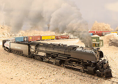 LEAFLET only of 39911 MARKLIN HO THE CHALLENGER US Steam Loco - A Brocure only!!