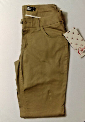 Dickies Brown Work Style Pants For Female Size 5 New