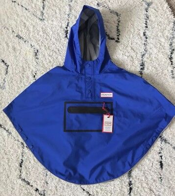 Hunter for Target Toddlers' Sz 2T / 3T Waterproof Packable Poncho Blue