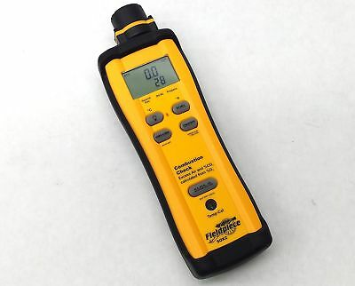 Fieldpiece Sox2 Hvac Hvac-R Co2 Gas Combustion O2 Temp Check Standalone Meter
