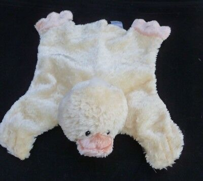 Baby Gund Comfy Cozy Mini Waddles Yellow Duck Lovey Security Blanket 58524 Vhtf!