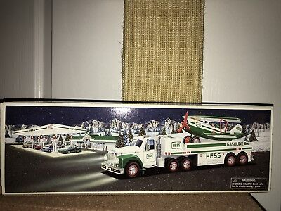 Hess 2002 Toy Truck and Airplane Collectible NEW in Box