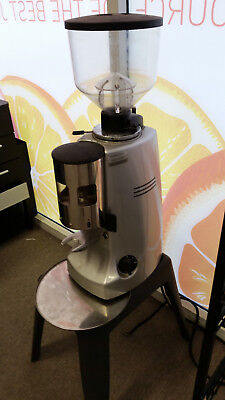 Mazzer 'Robur' Manual Commercial Coffee Grinder, Stainless Steel