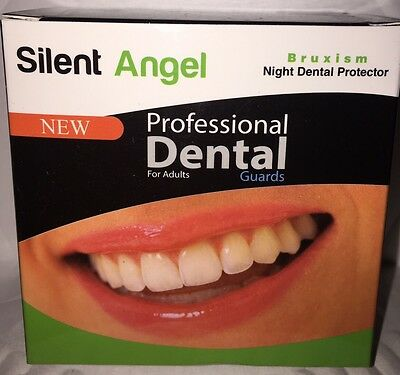 Silent Angel 2X Mouth Guard Teeth Grinding Bruxism Sleep Bed Night Protect NEW