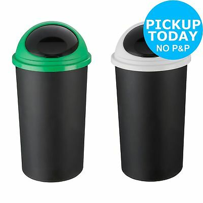 HOME 25 Litre Recycle Bin Twin Set