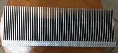 Large Clean Aluminum Heat Sink From Large Motor Drive (24x13x8.5cm)