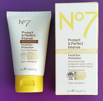 Boots No7 Protect & Perfect Intense Advanced Facial Sun Protection SPF 30 50ml