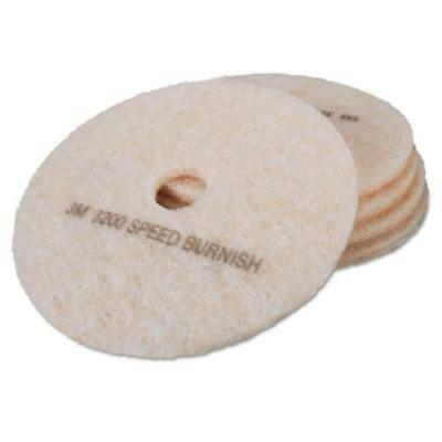 3m 18066 Ultra High-speed Topline Floor Burnishing Pads 3200, 20-inch,