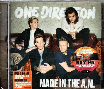 ONE DIRECTION-Made In The A.M.-CD-Brand New-Still Sealed