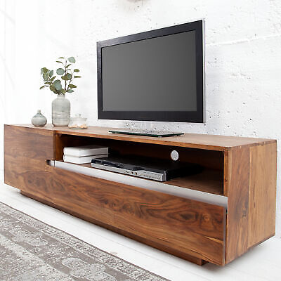 Massives TV Board FIRE & EARTH II 160cm Sheesham Holz Lowboard Schrank Board