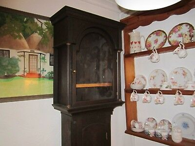 Antique Grandfather Clock Case For Project - In Very Good Condition