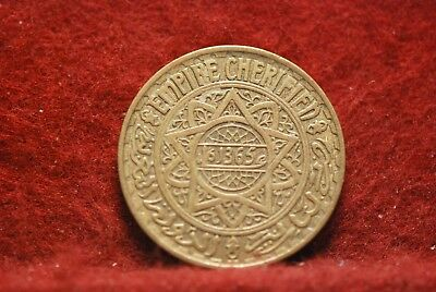 Morocco, AH1365 5 Francs, Y43, Extremely Fine+, No Reserve,                 34eb