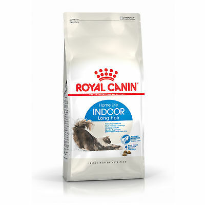 Croquettes pour chats Royal Canin Indoor Long Hair 35 Sac 2 kg