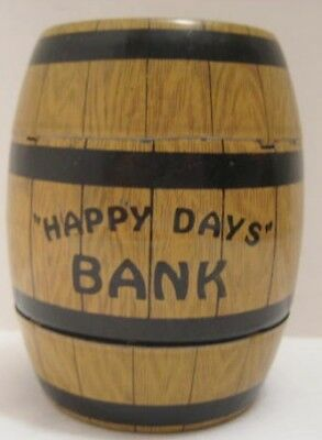 Classic Antique Tin Figural Toy Happy Days Bank w Trap J Chein & Co 1940s