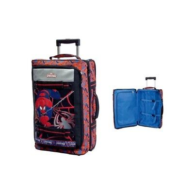 Valigia trolley soft deluxe Spiderman Cm. 35x55x25