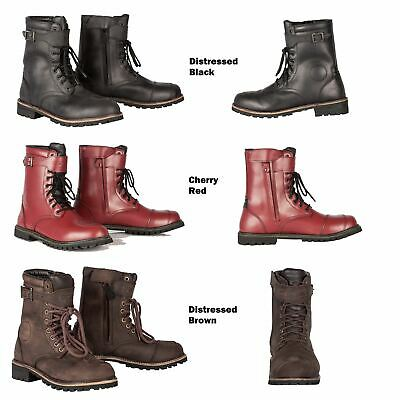 e0a8d30e8018 Spada Pilgrim Grande Boots Men Women Waterproof Leather Urban Motorcycle  Boots