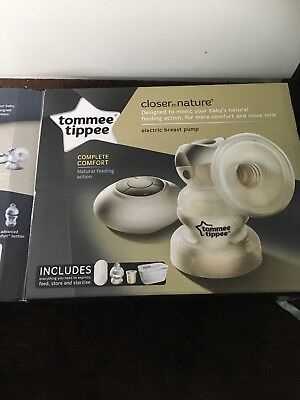 Tommee Tippee Closer To Nature Electric Manual Breast Pump Set Baby Nursing