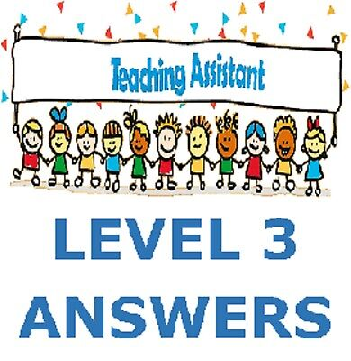 Specialist Support for Teaching and Learning in Schools Level 3 Diploma Answers
