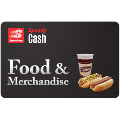 Speedway Food & Merchandise Gift Card $100 Value, Only $94.00! Free Shipping!